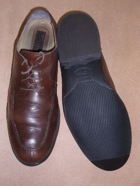 Dockers shoes resoled after our repair