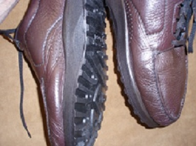 Another photo of SAS shoes resoled with Vibram style #1030