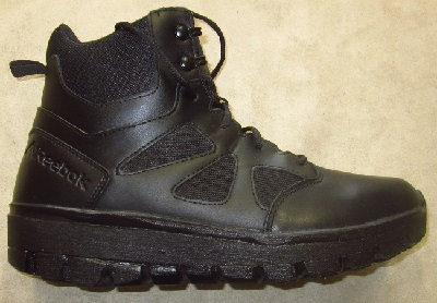 Image of a Red Wing Worx boot with an added shoe lift.