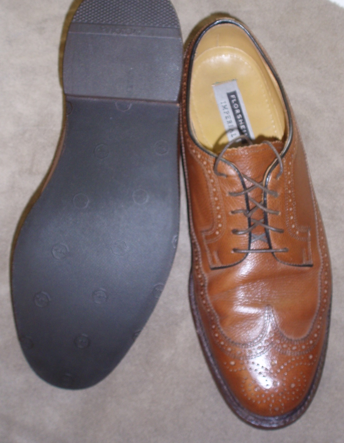 Thrift Store Dress Shoes